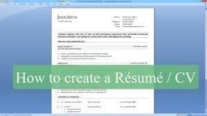 Resume Cv Dsp Engineer How To Make Resume In Ms Word Resume Samples