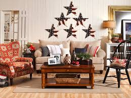 Small Picture Patriotic Americana Home Decorating Idea