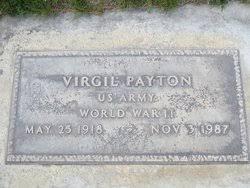 Virgil Payton (1918-1987) - Find A Grave Memorial