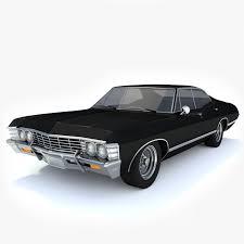 3d 1967 Chevy Impala | Toon Life Studios