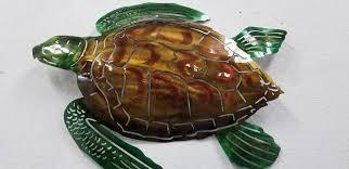 metal sea turtle wall art sea turtle