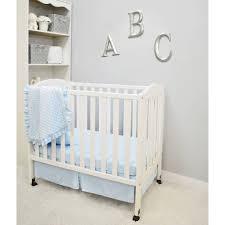 american baby company heavenly soft minky dot 3 piece mini portable crib bedding set choose your color com
