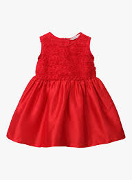 Beebay Size Chart Beebay Red Party Frock