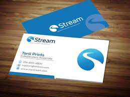 Buiness Cards Stream Energy Business Cards Tank Prints