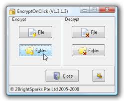 Encrypt Files And Folders With Just A Few Clicks