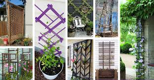 24 easy diy garden trellis projects you can do this weekend