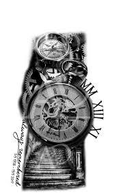 Artstation Sleeve Tattoo Design Alexander Design рукав идеи