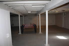 White Basement Ceiling - Painted basement ceiling ideas
