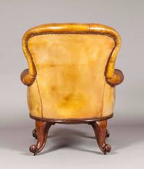 armchair library chair. gentleman\u0027s leather library chair firmly attributed to gillows of lancaster 2 armchair a