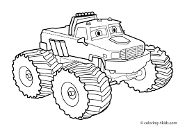 Truck Coloring Pages To Print Blaze Coloring Pages To Print Best New