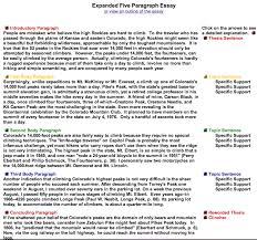 five paragraph essay example five paragraph essay org view larger