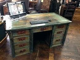 rustic office desks. Office Furniture Rustic And Student Desks Blowout Desk Decor