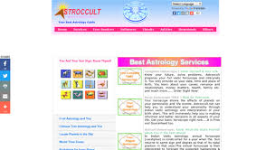 Occult Numerology Chart Access Astroccult Com Astrology Indian Astrology Free Vedic