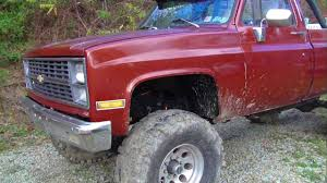 1982 Chevy K20 on 38.5's - YouTube