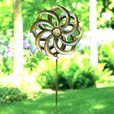 metal yard wind spinners large garden