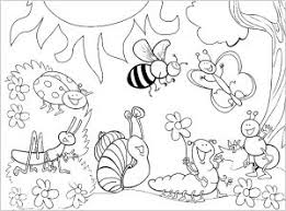 Our insect coloring pages can help you enhance your discovery into the bug life. Insects Free Printable Coloring Pages For Kids