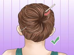 Chopstick Hairstyle 5 ways to put your hair up with a pencil wikihow 8974 by wearticles.com