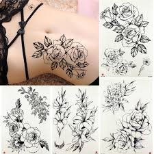 Detail Feedback Questions About Summer Style Temporary Tattoo Black