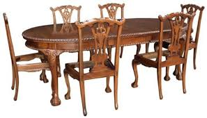 reproduction dining tables. 6 seater mahogany chippendale dining table reproduction tables e