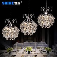 get ations world source led three meal restaurant lights crystal chandelier lamp modern minimalist restaurant lighting lamps creative