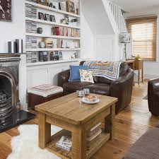 design living room furniture. 13. Make The Most Of Space Under Stairs Design Living Room Furniture
