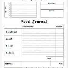 Ms Word Journal Template Free 18978433000552 Food Diary Template