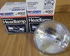 12v sealed beam wagner 4001 sealed hi beam 12v headlamps~set of 2~new~ shipping