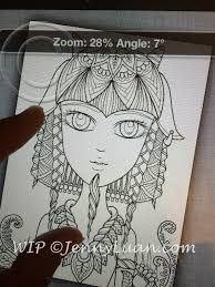 Small Picture Jenny Luan Art How I Make Coloring Page