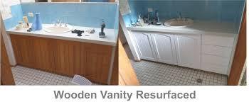 bathroom resurfacing. Bathroom Vanity Resurfaced Resurfacing
