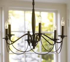 pottery barn chandelier pertaining to graham decorations 0