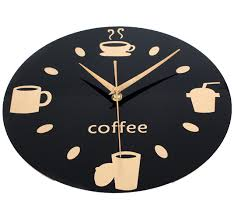Small Picture Popular Coffee Kitchen Clock Buy Cheap Coffee Kitchen Clock lots