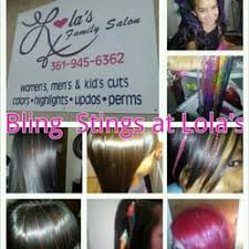 photo of lola s family salon corpus christi tx united states bling strings