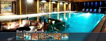 Innovation Indoor Pool Bar Diamond Area Contains Two Subtly Lit Throughout Modern Ideas