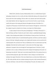 critical analysis essay the wife of bath s tale a medieval 4 pages close reading essay metamorphoses