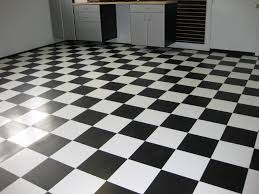 Black And White Patterned Floor Tiles
