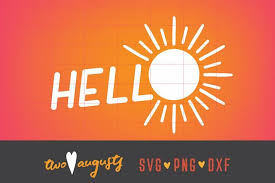 Download now to use this. Hello Sunshine 80s Simple Svg Dxf Png Neon Sun Twoaugusts Crafters Svgs Svg School Design Free Design Resources