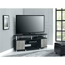 80 Tv Stand Black Inch Corner Cabinet With Furniture For S Up To And  Natural Brown  Weathered Gray Large Inches Wide 896