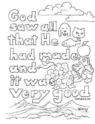 Creation Coloring Pages Coloring Pages For Creation Children Bible