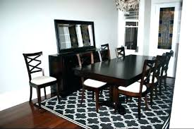carpet under dining room table area rug is the view in for