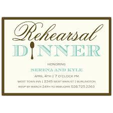 Invitation Wording For Dinner Rehearsal Dinner Invitation Wording Paperstyle