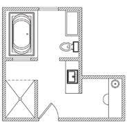 floor plan master bathroom. floor plan master bathroom