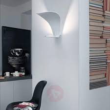 indirect wall lighting. Designer LED Wall Light Voilà With Indirect Light-7265085-01 Lighting