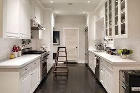 narrow kitchen plans design layout ideas for small