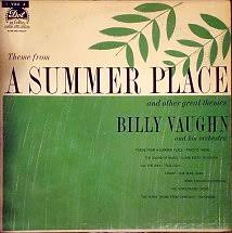 vinyl al billy vaughn and his orchestra theme from a summer place dot usa