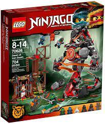 Đồ Chơi LEGO Ninjago 70626 - Quái Vật Rắn Khổng Lồ đại chiến (LEGO 70626  Dawn of Iron Doom)