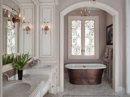 bathroom interior marble bathroom chandelier bathroom freestanding bathtub bronze tub floor mounted tub