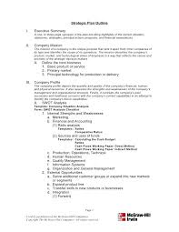 Business Plan Document Template Format For Strategic Plan Document Rightarrow Template Database