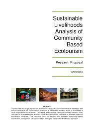 ecotourism essay ecotourism essay 726 words studymode