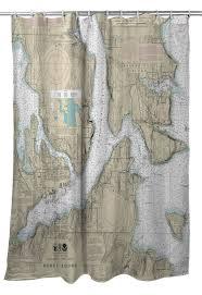 Wa Bremerton Bainbridge Island Wa Nautical Chart Shower