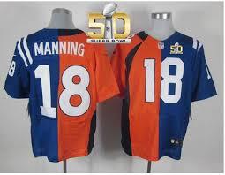 Peyton Manning Peyton Jersey Split Manning